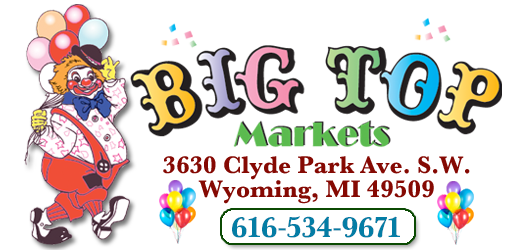 Steve Deyoung's Big Top Market your Spartan grocery store in Wyoming, Michigan